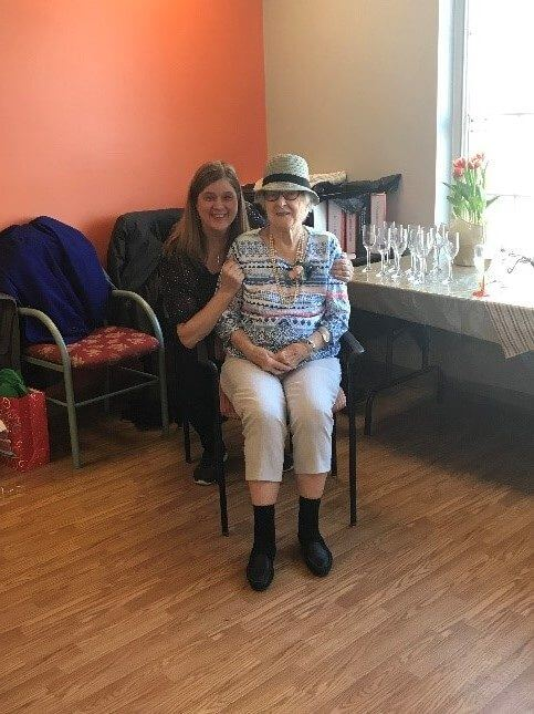 Our First Client Just Celebrated Her 100th Birthday!